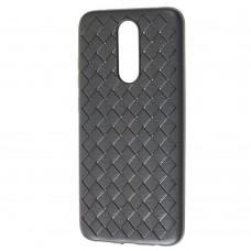 Чехол для Xiaomi Redmi 8 Weaving черный