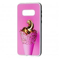 Чехол для Samsung Galaxy S10e (G970) Fashion mix мороженое
