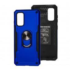 Чехол для Samsung Galaxy S20 (G980) SG Ring с кольцом синий