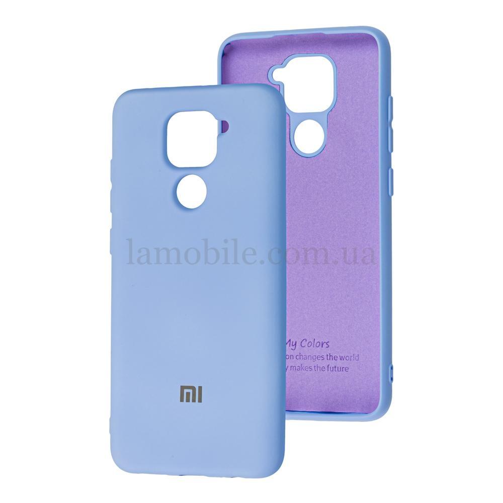 Чехол для Xiaomi Redmi Note 9 My Colors голубой / sky blue