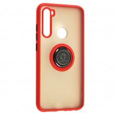 Чехол для Xiaomi Redmi Note 8 LikGus Edging Ring красный