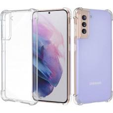 Чехол для Samsung Galaxy S21+ (G996) WXD ударопрочный прозрачный