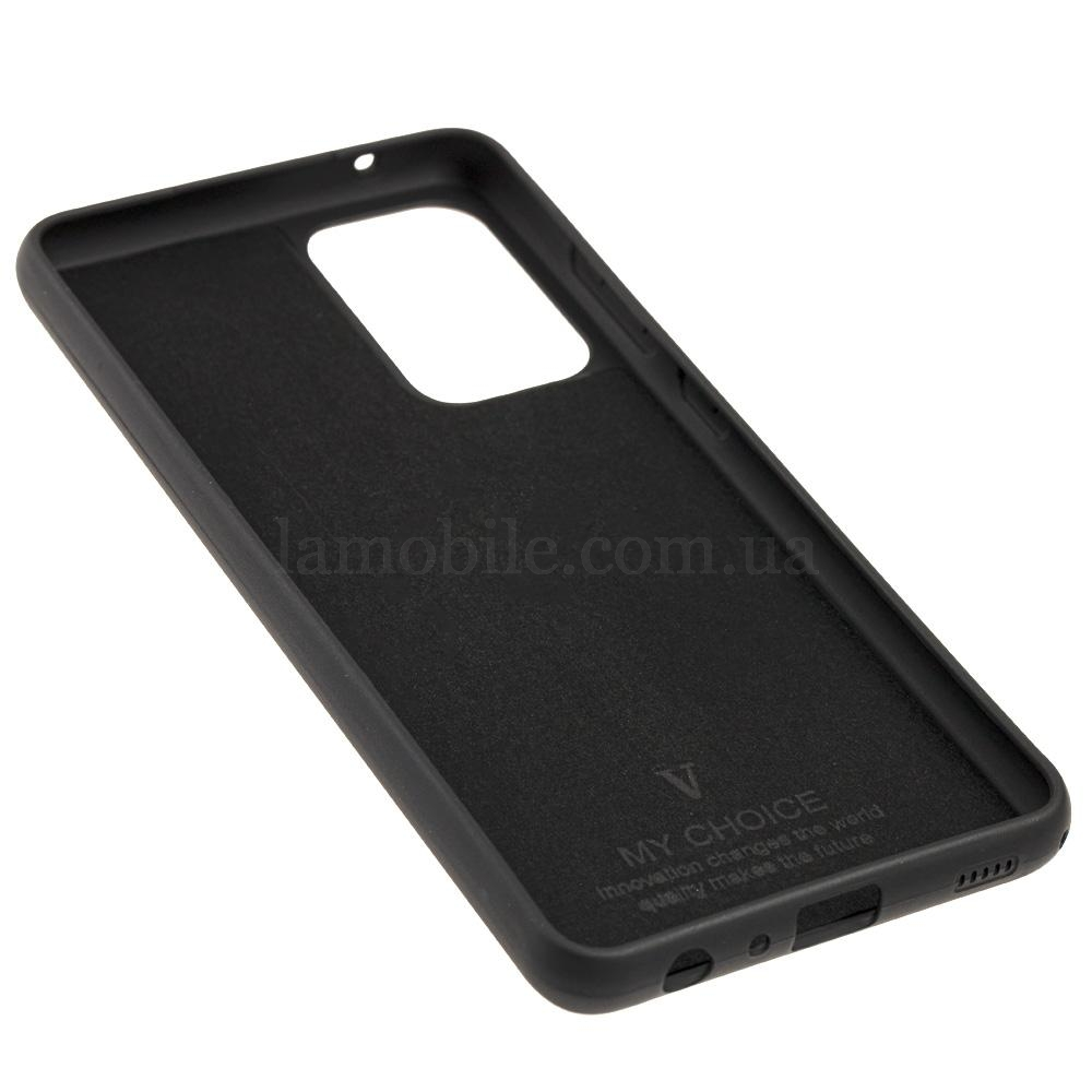 Чехол для Samsung Galaxy A52 (A526) Silicone Full черный