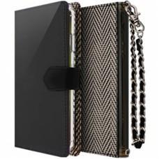 Чехол книжка для iPhone Xs Max Molan Cano Rara черно-белый