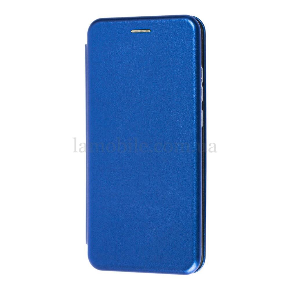 Чехол книжка Premium для Xiaomi Redmi Note 8T синий