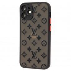 Чехол для iPhone 12 mini LikGus LV черный