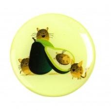 Попсокет для смартфона Avocado дизайн 24