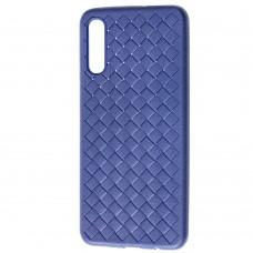 Чехол для Samsung Galaxy A50 / A50s / A30s Weaving case синий