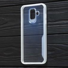 Чехол для Samsung Galaxy J6 2018 (J600) Simple белый