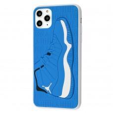 Чехол для iPhone 11 Pro Max Sneakers Brand jordan синий / белый