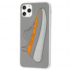 Чехол для iPhone 11 Pro Max Sneakers Brand yeezy 350 серый