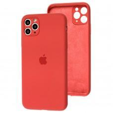 Чехол для iPhone 11 Pro Max Silicone Slim Full camera camellia