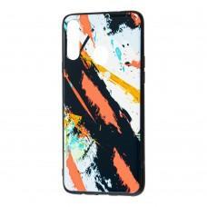 Чехол для Samsung Galaxy A20s (A207) Picasso черный