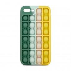 Чехол для iPhone 7 Plus / 8 Plus Pop it colors антистресс дизайн 6
