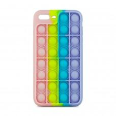 Чехол для iPhone 7 Plus / 8 Plus Pop it colors антистресс дизайн 7