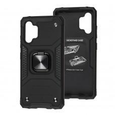 Чехол для Samsung Galaxy A32 (A325) Hard Defence черный