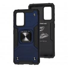 Чехол для Samsung Galaxy A52 Hard Defence синий