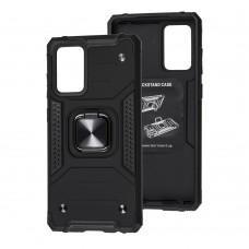 Чехол для Samsung Galaxy A52 Hard Defence черный