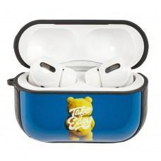 Чехол для AirPods Pro Young Style мишка синий