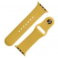 Ремешок Sport Band для Apple Watch 38mm / 40mm бледно-желтый