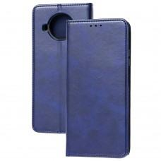 Чехол книжка для Xiaomi Mi 10T Lite Black magnet синий