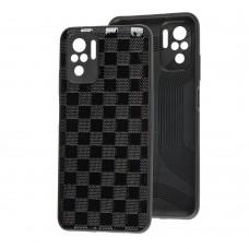 Чехол для Xiaomi Redmi Note 10 / 10s Leather case куб