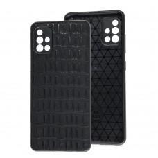 Чехол для Samsung Galaxy A51 (A515) Leather case кроко
