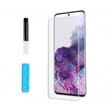 Защитное 3D стекло для Samsung S10 (G973) UV прозрачное