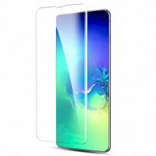 Защитное 3D стекло для Samsung S10+ (G975) UV прозрачное