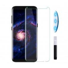 Защитное стекло 3D для Samsung S8+ / S9+ UV прозрачное