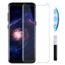 Защитное 3D стекло для Samsung Galaxy S8 / S9 UV прозрачное
