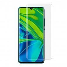 Защитное 3D стекло для Xiaomi Mi Note 10 / Mi CC9 Pro UV прозрачное