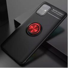 Чехол для Samsung Galaxy M31s (M317) Deen под магнитный держатель черный / красный