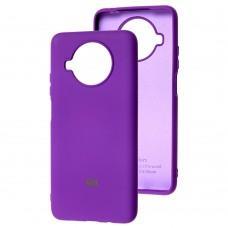 Чехол для Xiaomi Mi 10T Lite Silicone Full фиолетовый / grape