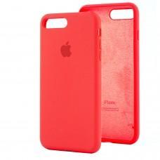 Чехол для iPhone 7 Plus / 8 Plus Silicone Full оранжевый / apricote