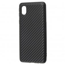 Чехол для Samsung Galaxy A01 Core (A013) Carbon ultra-thin черный