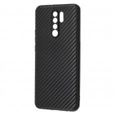 Чехол для Xiaomi Redmi 9 Carbon ultra-thin черный