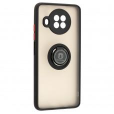 Чехол для Xiaomi Mi 10T Lite LikGus Edging Ring черный / красный