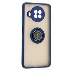 Чехол для Xiaomi Mi 10T Lite LikGus Edging Ring синий