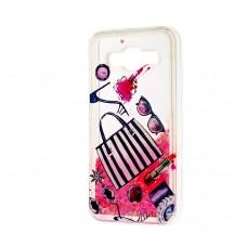 "Чехол для Samsung Galaxy J5 (J500) вода розовый ""сумочка"""