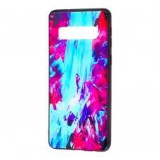 Чехол для Samsung Galaxy S10+ (G975) Picasso синий