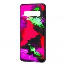 Чехол для Samsung Galaxy S10+ (G975) Picasso красный