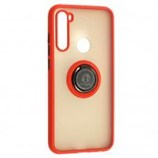 Чехол для Xiaomi Redmi Note 8T LikGus Edging Ring красный