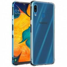 Чехол для Samsung Galaxy A20 / A30 WXD ударопрочный прозрачный