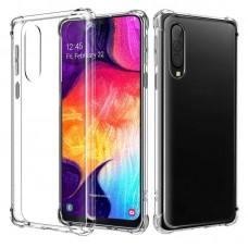 Чехол для Samsung Galaxy A50 / A50s / A30s WXD ударопрочный прозрачный