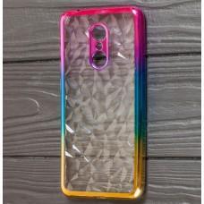 Чехол для Xiaomi Redmi 5 Prism Gradient розово золотистый
