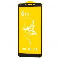 Защитное стекло 6D Premium для Xiaomi Redmi 6 / 6A черное (OEM)