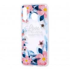 Чехол для Samsung Galaxy M30 (M305) Nice цветы
