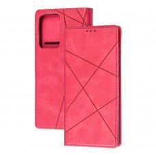 Чехол книжка Business Leather для Samsung Galaxy Note 20 Ultra (N986) малиновый