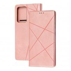 Чехол книжка Business Leather для Samsung Galaxy Note 20 Ultra (N986) розовый